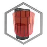 Фильера графитовая для машин IECO под полосу от 35х5 до 200х20, фото 2