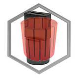 Фильера графитовая для машин IECO под полосу от 35х5 до 200х20, фото 3