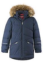 Зимняя куртка пуховик для мальчика Reima Leiri 531417-6980. Размеры 116 - 140.