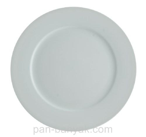 Тарелка FoREST Aspen круглая с бортом d25,5 см фарфор (710073)