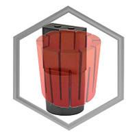 Фильера графитовая для машин IECO под пруток от 1х6 до 6х8