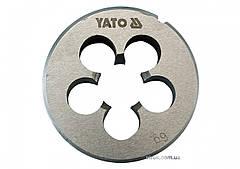 Плашка YATO М20 х 2.5 мм HSS М2 150 г YT-2973
