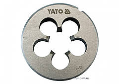 Плашка YATO М16 х 2 мм HSS М2 160 г YT-2971
