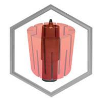Фильера графитовая для машин IECO под трубу от 12,5х1,5 до 60х15