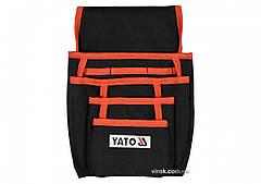 Сумка поясна для інструментів і цвяхів YATO з кишенями YT-74171