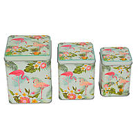 Набор банок Flamingo - 208086
