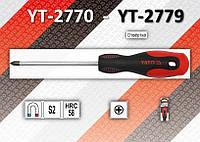 Отвертка крестовая PH0 х 75мм., YATO YT-2770