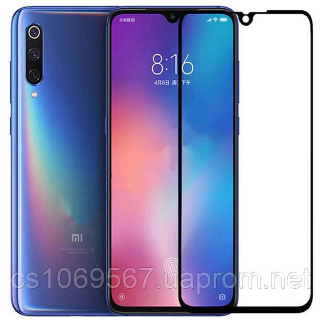 Защитное цветное 3D 9H стекло Mocolo (full glue) для Xiaomi Mi 9 / Mi CC9 / Mi 9 Lite