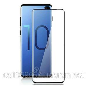 Защитное цветное 3D 9H стекло Mocolo (full glue) для Samsung Galaxy S10e
