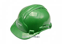 Каска для защиты головы VOREL зеленая