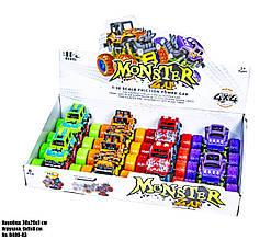 Маленькая трюковая машинка 4X4 Monster D400-03