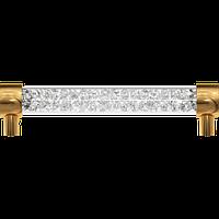 Дверные ручки с кристаллами Сваровски Crystal 7160