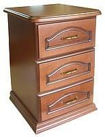 Тумбочка прикроватная Ява 3 ящика, фото 1