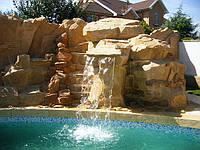 Бассейн Водопад бортовой камень, фото 1