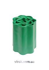 Полоса бар'єрна VOREL для рослин зелена b=200 мм l=9 м