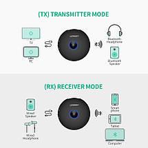 Беспроводной Bluetooth 4.2 адаптер Ugreen CM108 aptX HI-FI (приемник + передатчик), фото 3
