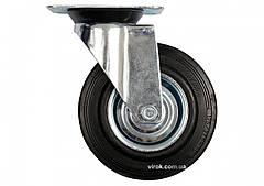 Колесо до візка Ø=200 мм b=46 мм VOREL з обертовою опорою h=235 мм навантаження - 150 кг