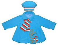 Нарядное пальто для девочки