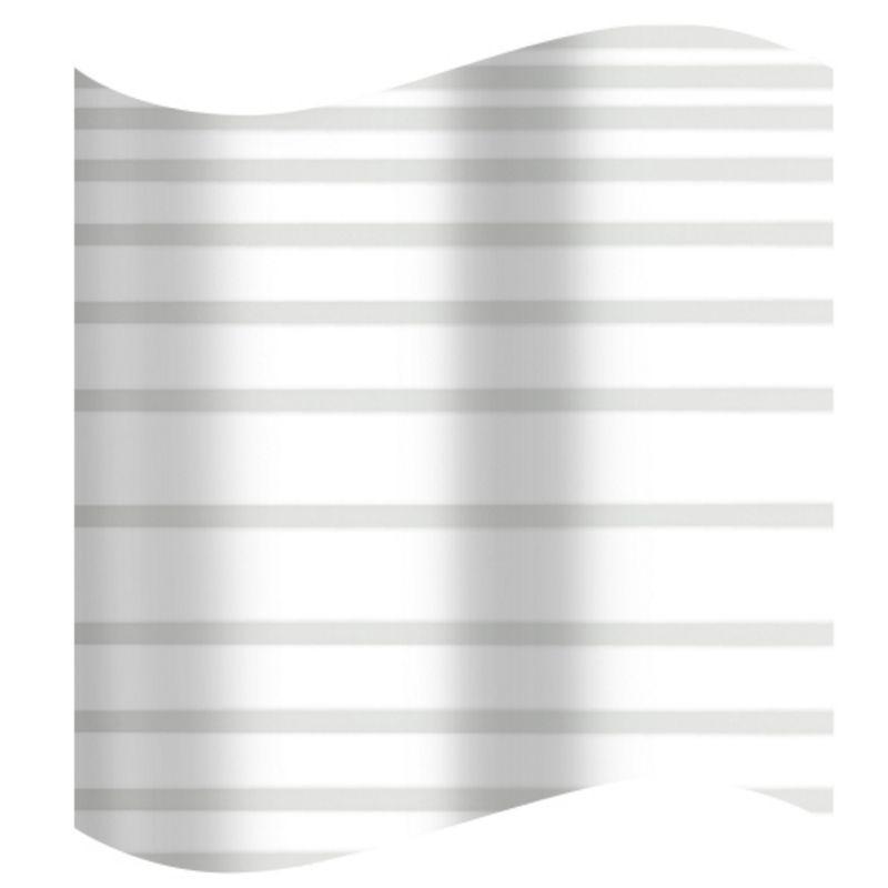 Шторка для ванной в серую полоску AWD02101153