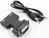Конвертер адаптер переходник HDMI на VGA OUT HLV 6737