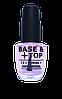 Лечение для ногтей La krishe   Gelish effect 2 в 1 основа и закрепитель 15 мл (Base + Top)