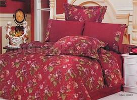 Комплект постельного белья жатка Le Vele ELIZA CLARET