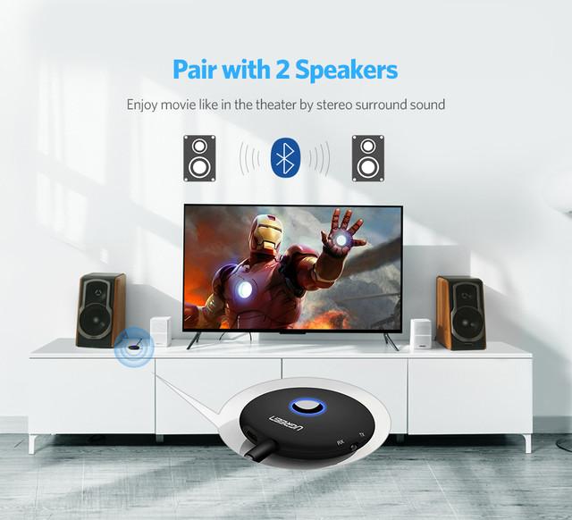 беспроводной Bluetooth 4.2 приемник-передатчик aptX HI-FI Ugreen CM108 40762E