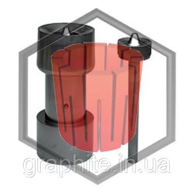 Фильера графитовая под трубу для машин непрерывного литья Bertonchello