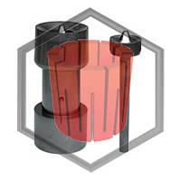 Фильера графитовая под трубу для машин непрерывного литья Bertonchello, фото 1
