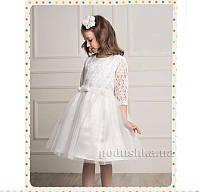 Нарядное платье для девочки Деньчик 7058 116