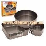 "Форма для выпечки МН-0122 ""STENSON"" (тефлон.3 разные)"