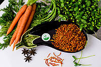 Сушеная морковь, 3*3*30, Класс А, 1 кг, фото 1