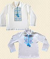 Вышиванка для мальчика длинный рукав интерлок