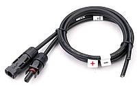 Коннектор-кабель для солнечных батарей MC4 (внутренний) 4кв.мм, фото 1