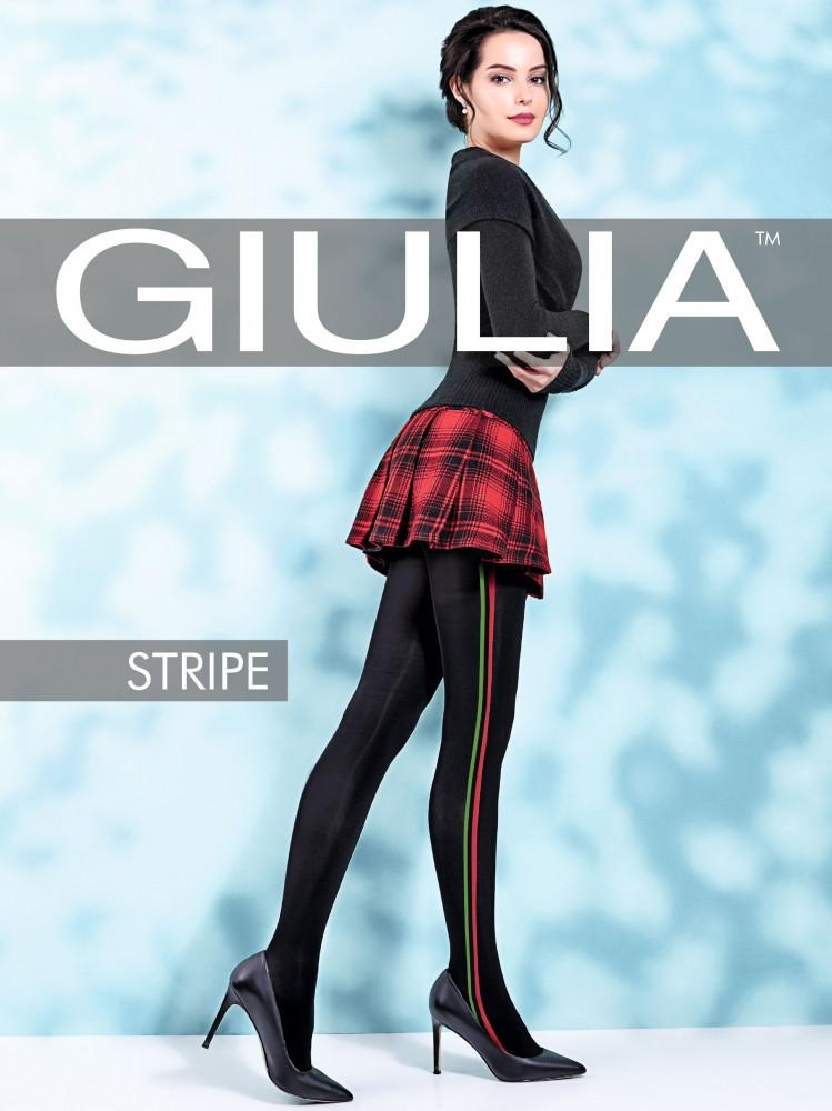Фантазийные колготки с лампасами GIULIA Stripe 70 model 2