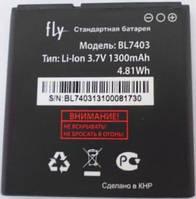 Аккумулятор Fly BL7403 оригинальный для мобильного телефона Fly IQ431 Glory, Fly IQ432 ERA Nano 1