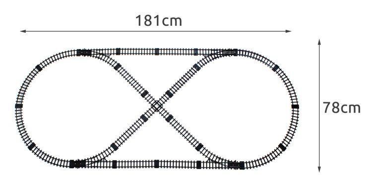 Детская железная дорога 7 м.