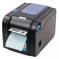 Универсальный термопринтер этикеток и чеков Xprinter XP-370B Гарантия!