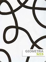 Белая ткань с геометрическим узором