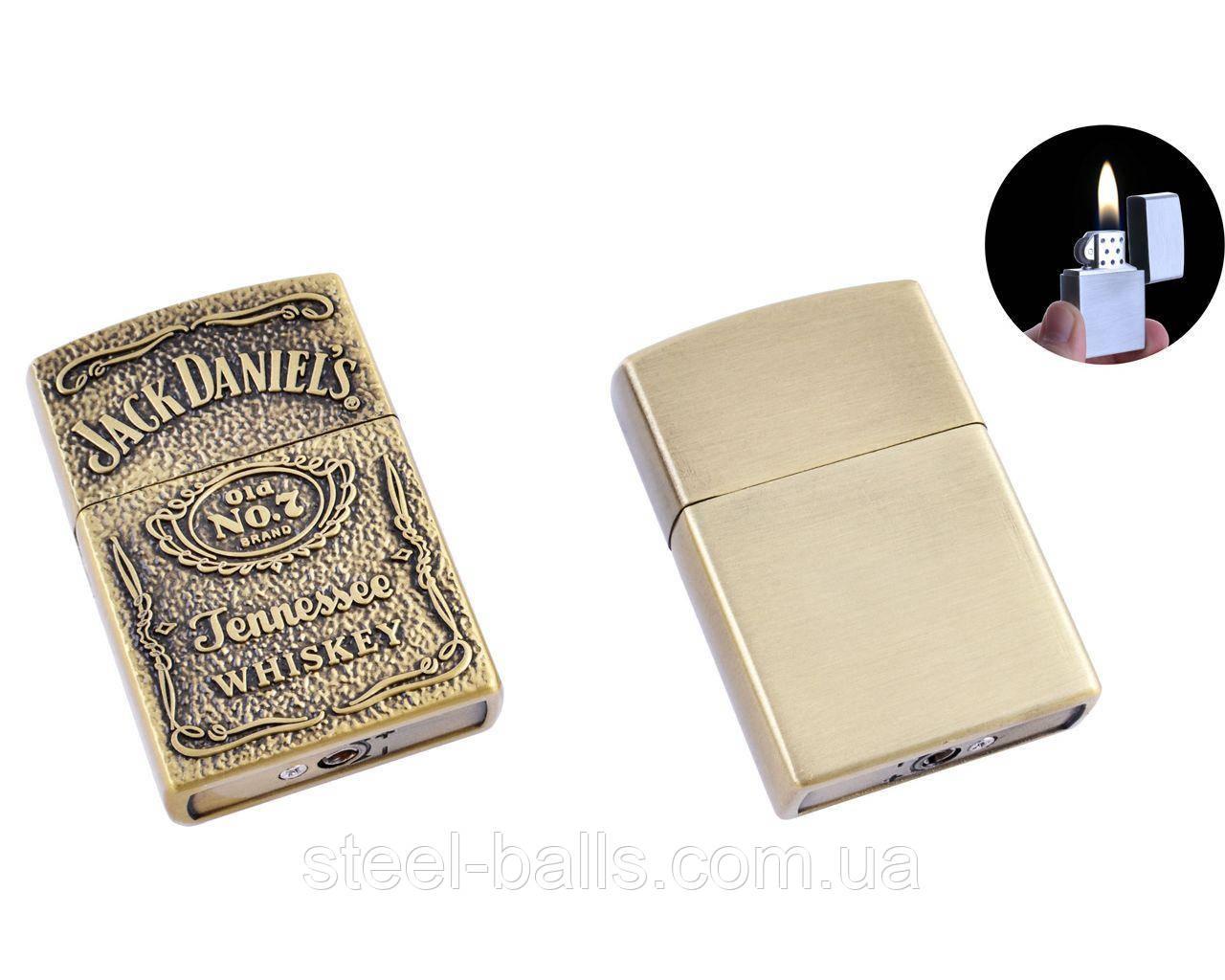 Зажигалка кремниевая Jack Daniels