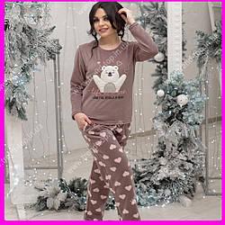 Теплая пижама. Размеры S,L