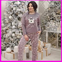 Теплая пижама. Размеры: S, M,L, XL