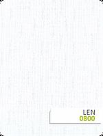 Белая ткань Лен для рулонных штор