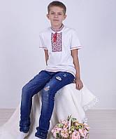 Рубашка Вышиванка-8 для мальчика интерлок