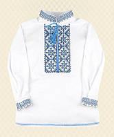Рубашка Вышиванка-7 для мальчика интерлок