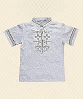 Рубашка Вышиванка-15 для мальчика короткий рукав интерлок