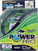 Шнур поводковый Power Pro, зеленый, сечение 0,10, длина 125м