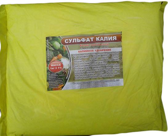 Удобрение Сульфат калия (калий сернокислый) 1 кг