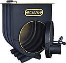 """Булерьян с варочной поверхностью KOZAK на 120 м3"""" с вторичной камерой дожига высоким КПД 75%, фото 5"""