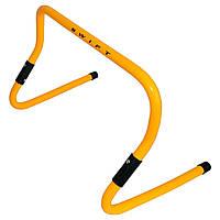 Барьер тренировочный универсальный SWIFT Multi-functional hurdle, 23-31 см (желтый), фото 1